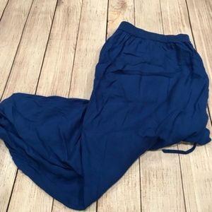 Torrid Blue Lightweight Capri Pants